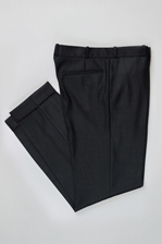 pantaloni conici clasici manseta costume barbatesti business